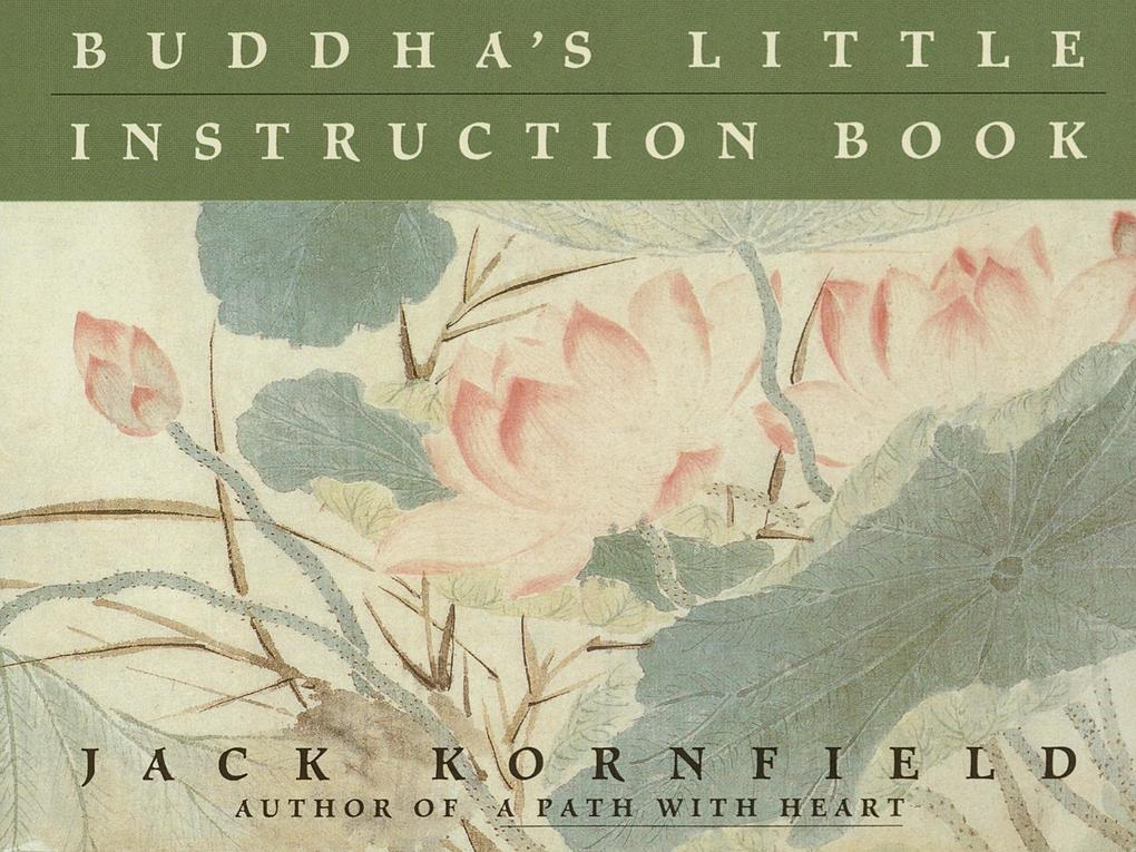 Buddha's Little Instruction Book als Taschenbuch