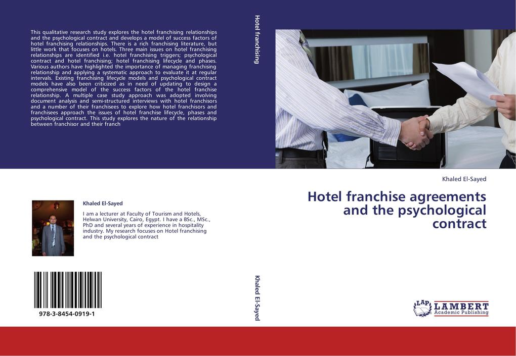 Hotel franchise agreements and the psychologica...