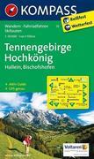 Tennengebirge - Hochkönig - Hallein - Bischofshofen 1 : 50 000