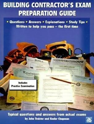 Building Contractor's Exam Preparation Guide als Taschenbuch