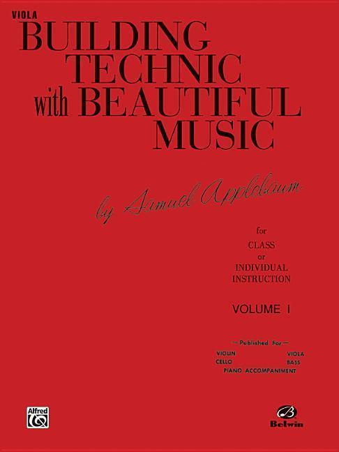 Building Technic with Beautiful Music, Bk 1: Viola als Taschenbuch