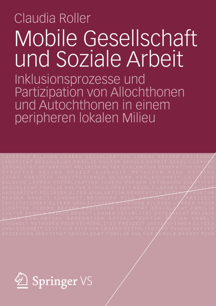 Mobile Gesellschaft und Soziale Arbeit als Buch...