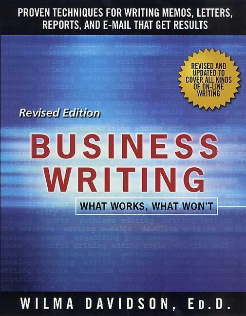 Business Writing: What Works, What Won't als Taschenbuch