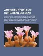 American people of Hungarian descent