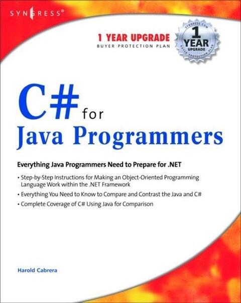 C# for Java Programmers als Taschenbuch