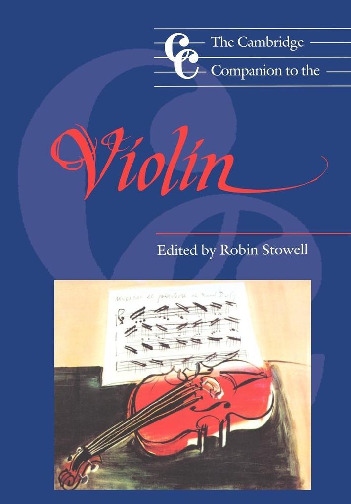 Cambridge Companion to the Violin als Buch