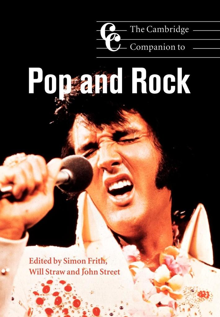 The Cambridge Companion to Pop and Rock als Buch