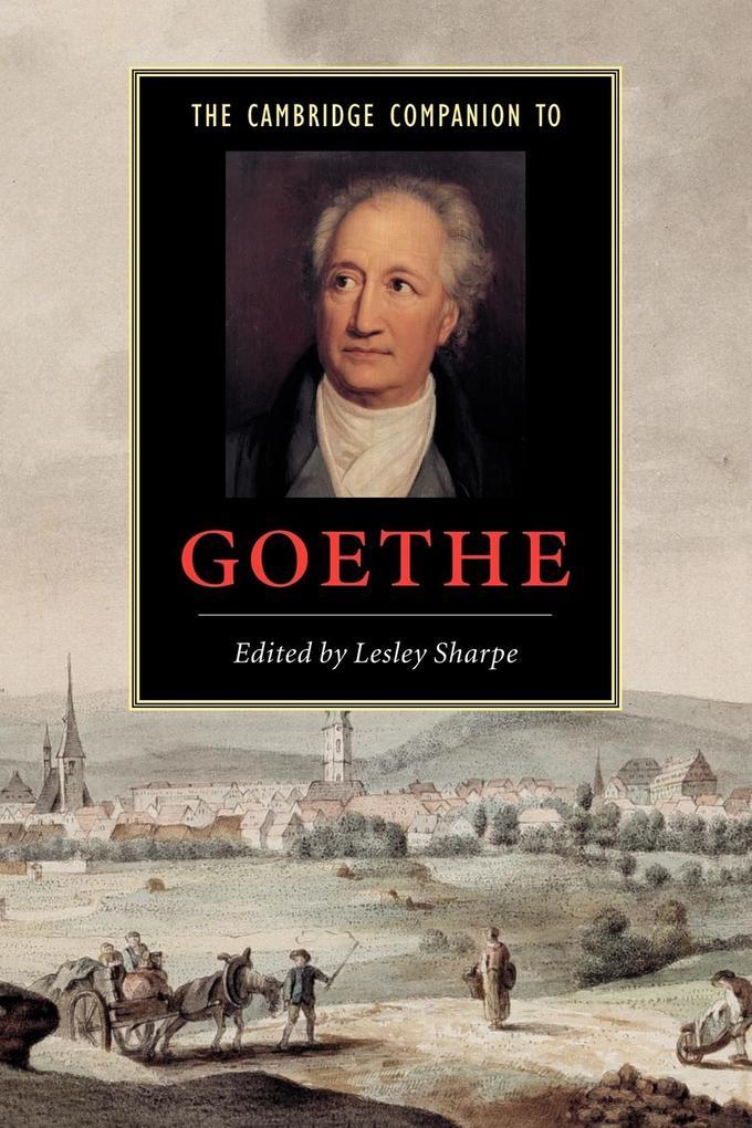 Cambridge Companion to Goethe als Buch