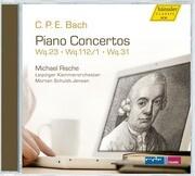 Klavierkonzerte Wq 23,Wq 112/1,Wq 31