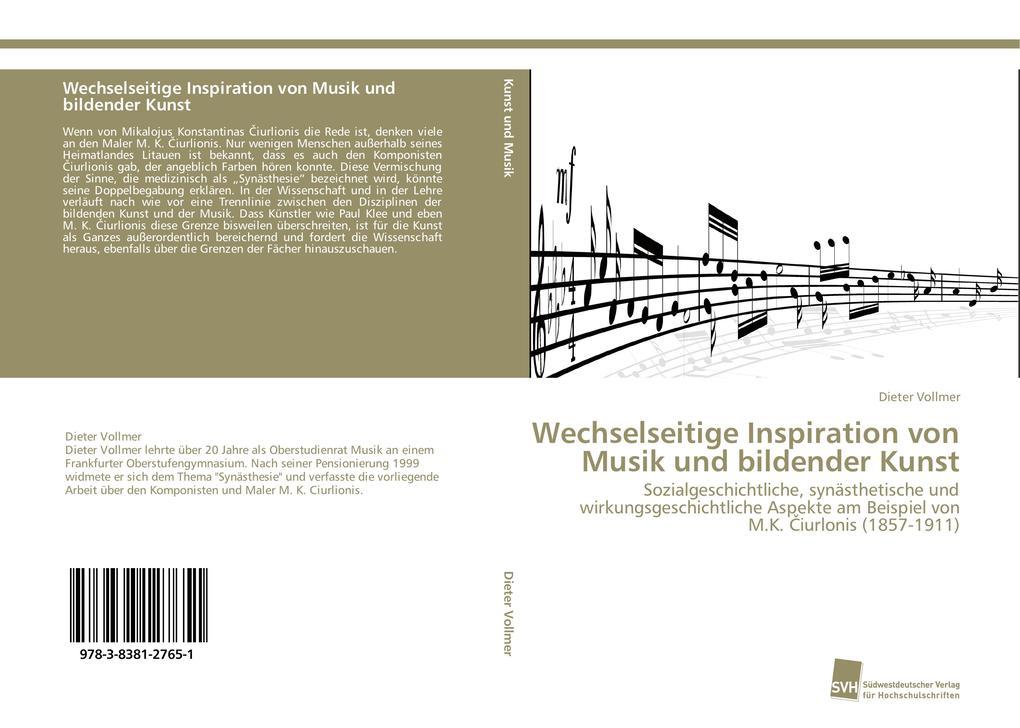 Wechselseitige Inspiration von Musik und bilden...