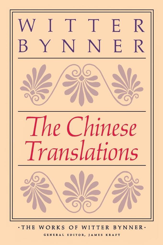 The Chinese Translations als Taschenbuch