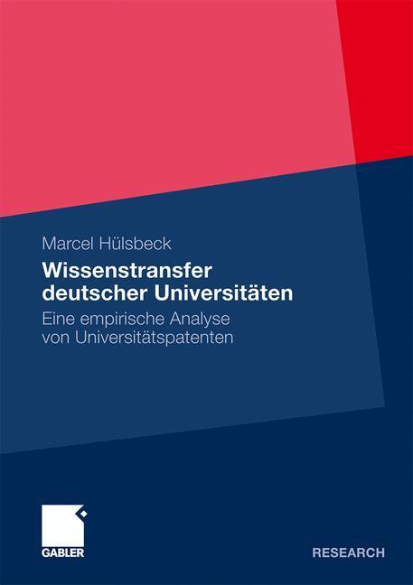 Wissenstransfer deutscher Universitäten als Buc...