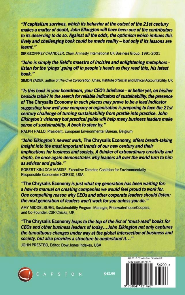 The Chrysalis Economy als Buch