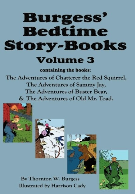 Burgess´ Bedtime Story-Books, Vol. 3 als Buch v...