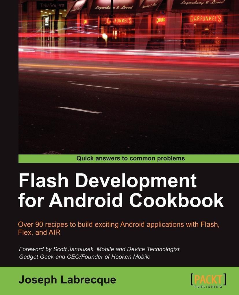 Flash Development for Android Cookbook als Tasc...