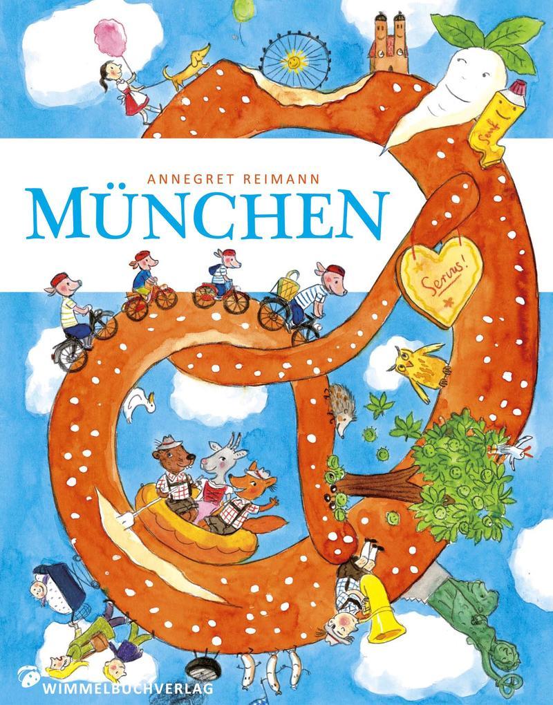 München Wimmelbuch als Buch