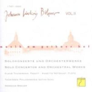Musik Am Gothaer Hof: Johann Ludwig Böhner,Vol.2