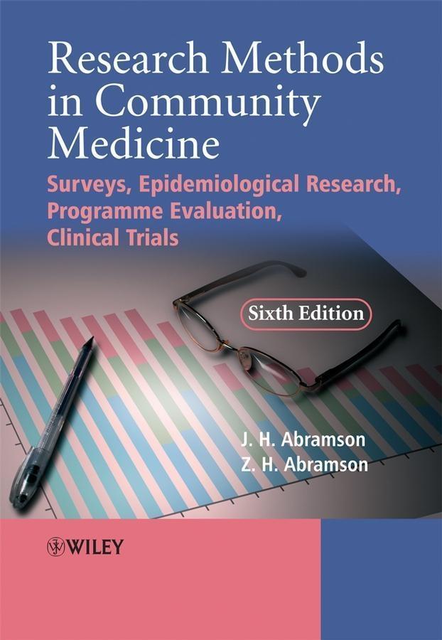 Research Methods in Community Medicine als eBoo...