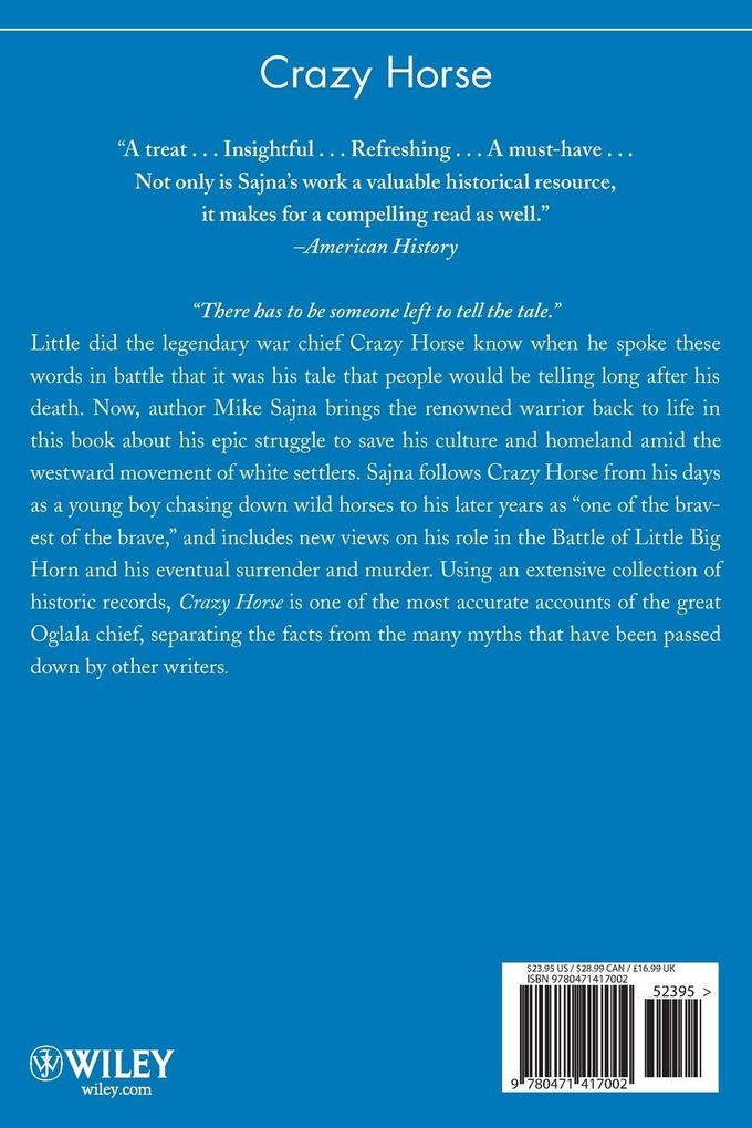 Crazy Horse als Buch
