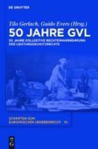 50 Jahre GVL als eBook