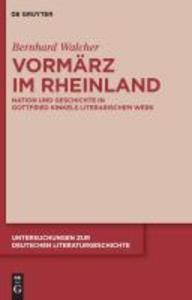 Vormärz im Rheinland als eBook Download von Ber...