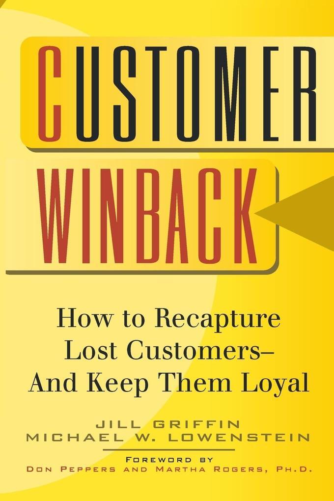 Customer Winback als Taschenbuch