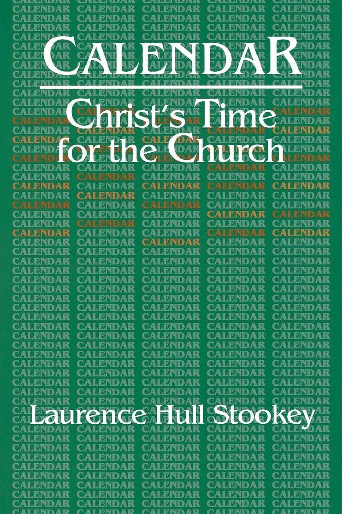 Christ's Time for the Church Calendar als Taschenbuch