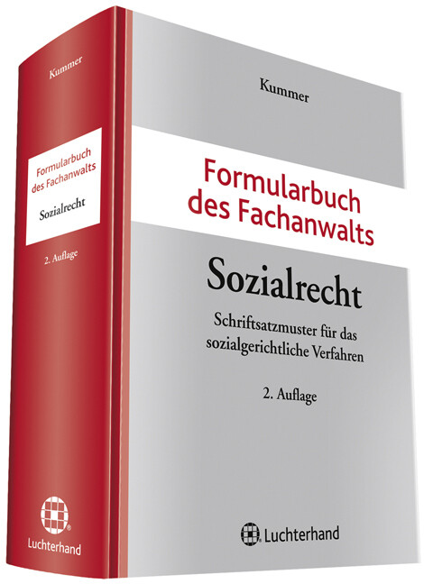 Formularbuch des Fachanwalts Sozialrecht als Bu...