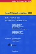 Sprachtherapieforschung 2000