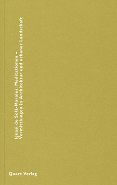 Mediationen - Vermittlungen in Architektur und ...