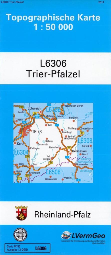 Trier-Pfalzel 1 : 50 000 als Buch von Landesamt...