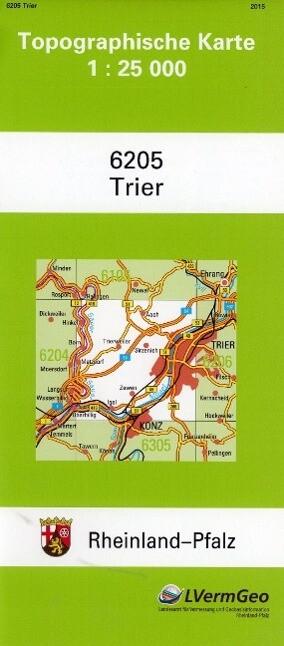 Trier 1 : 25 000 als Buch von