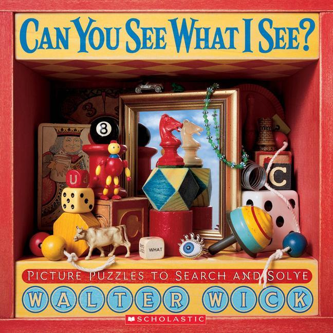 Can You See What I See?: Picture Puzzles to Search and Solve als Buch