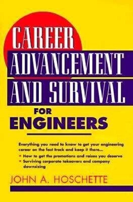 Career Advancement and Survival for Engineers als Taschenbuch