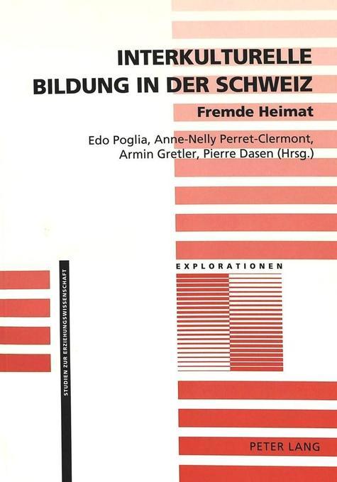 Interkulturelle Bildung in der Schweiz- Fremde ...
