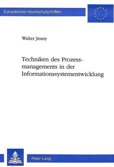 Techniken des Prozessmanagements in der Informa...