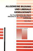 Allgemeine Bildung und liberale Gesellschaft