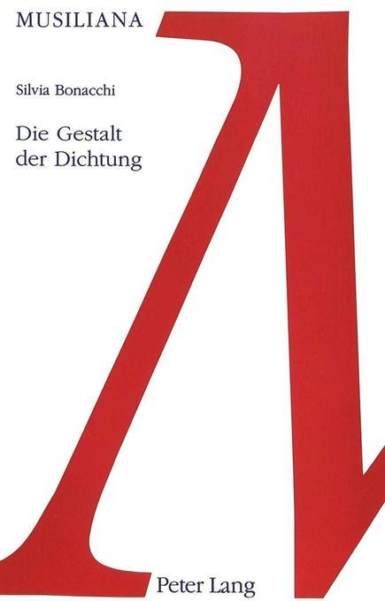 Die Gestalt der Dichtung als Buch
