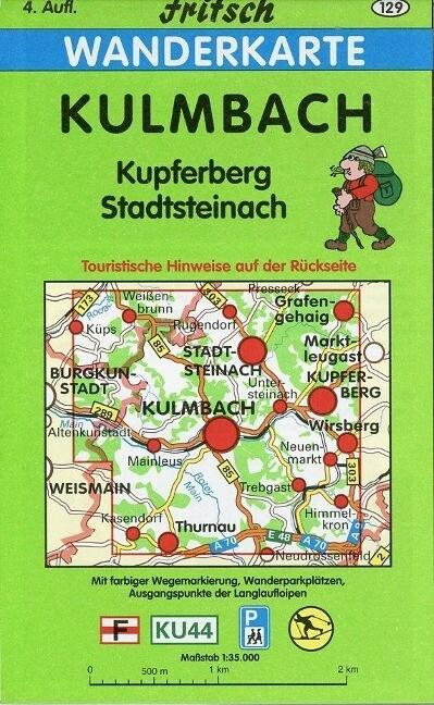 Kulmbach 1 : 35 000 Wanderkarte als Buch von