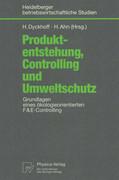 Produktentstehung, Controlling und Umweltschutz