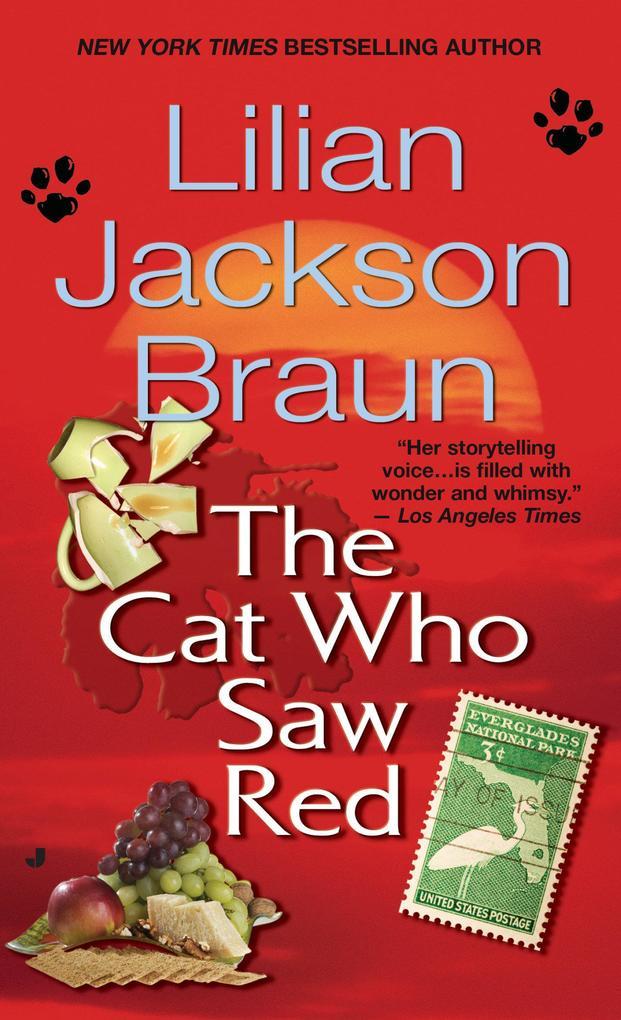 The Cat Who Saw Red als Taschenbuch