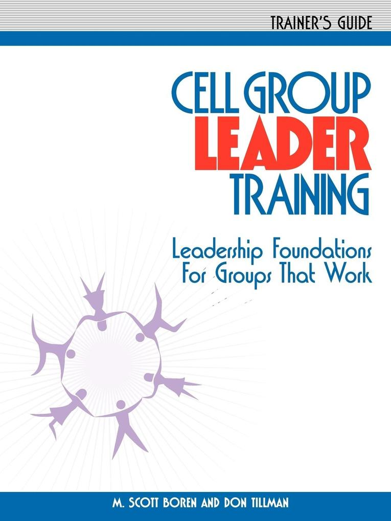 Cell Group Leader Training - Trainer's Guide als Taschenbuch