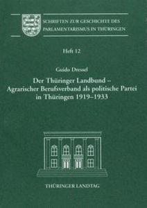 Der Thüringer Landbund - Agrarischer Berufsverb...