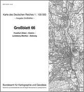 KDR 100 GB Frankfurt (Oder) - Küstrin - Landsberg (Warthe), Zielenzig