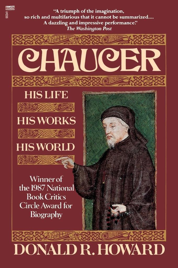 Chaucer: His Life, His Works, His World als Taschenbuch