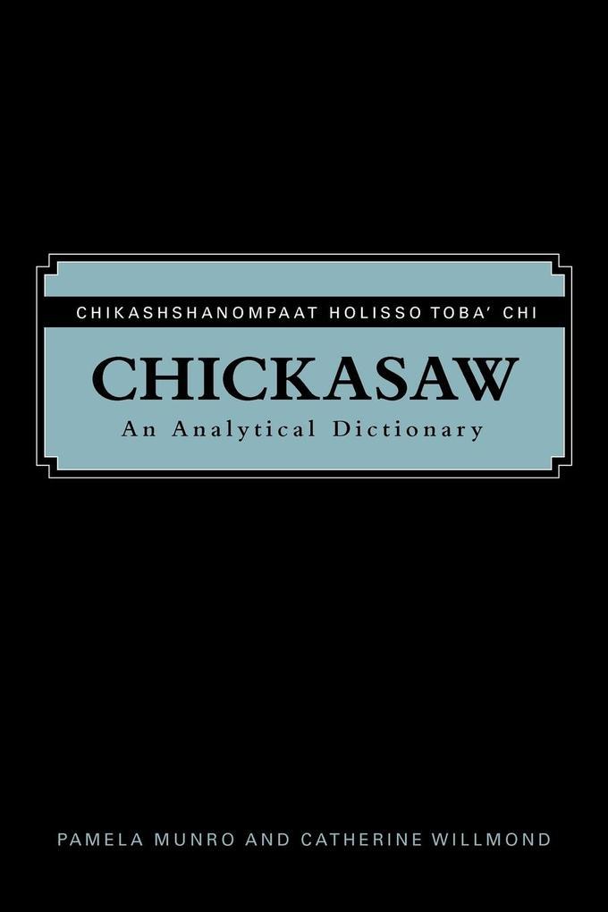 Chickasaw als Taschenbuch