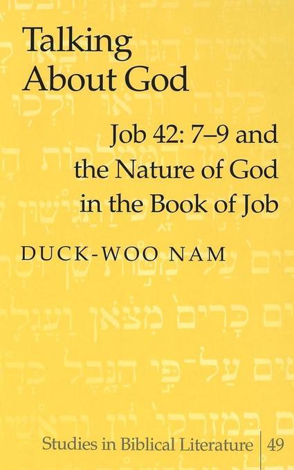 Talking About God als Buch von Duck-Woo Nam