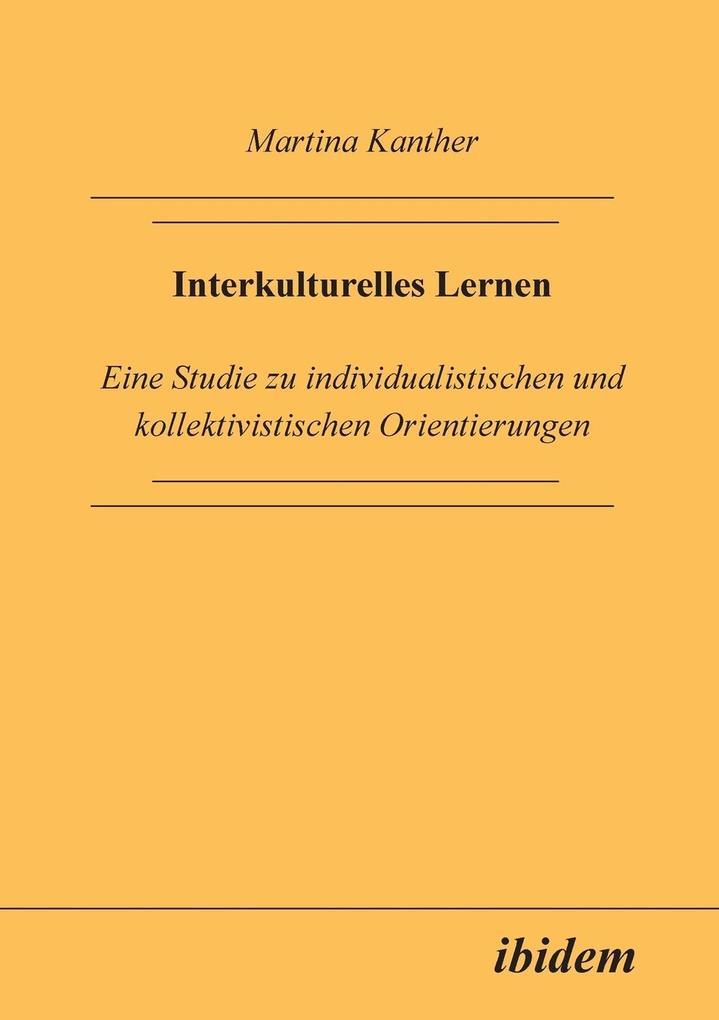 Interkulturelles Lernen als Buch von Martina Ka...