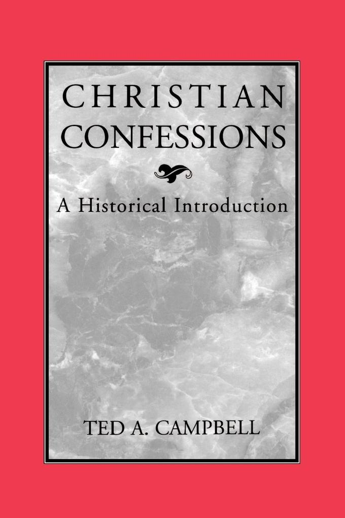 Christian Confessions als Taschenbuch