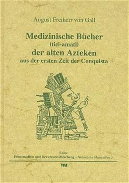 Medizinische Bücher ( tici-amatl) der alten Azteken aus der ersten Zeit der Conquista als Buch